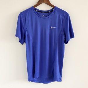 Men's Nike Dry Dri-Fit UPF 40+ Running Tee Blue S